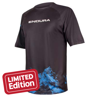 detail Endura Singletrack Print T Mountains LTD