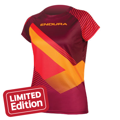 Endura Wms Singletrack Print T II LTD
