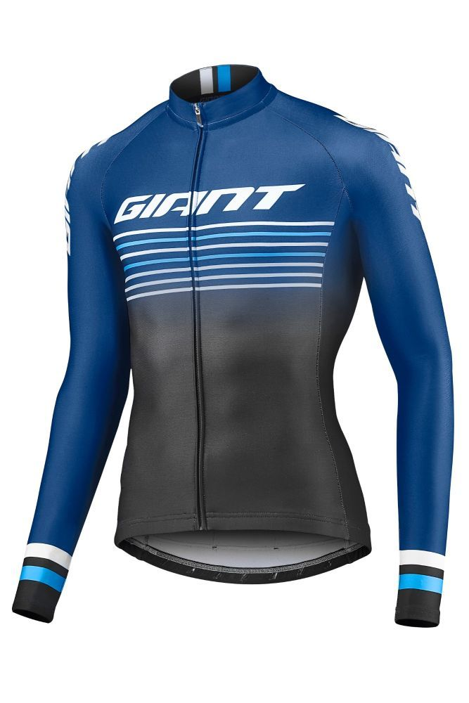 detail Giant Race Day Mid-Thermal L/S Jersey